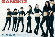 GANGKIZ - Mama :1st Mini Album (OFFICIAL POSTER) *HARD TUBE CASE* K-POP