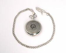 Pisces Pocket Watch Zodiac Sign Gift Boxed FREE ENGRAVING