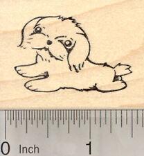 Shih Tzu Dog Rubber Stamp E27619 Wm