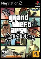 Grand Theft Auto San Andreas [Playstation 2]