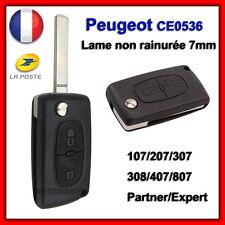 Plip Shell Key Peugeot 107 207 307 308 SW 407 807 Partner Expert 2 btons CE0536
