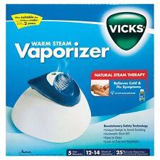 Vicks Warm Steam Vaporiser V188 CROUP ASTHMA COUGH BRONCHITIS FLU MUCOUS