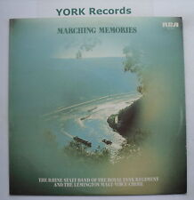 RHINE STAFF BAND OF THE ROYAL TANK REGIMENT - Marching Memories - Ex LP Record