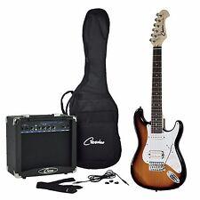 Casino 'ST-Mini' 3/4 Size Electric Guitar & Amplifier Pack for Kids (Sunburst)