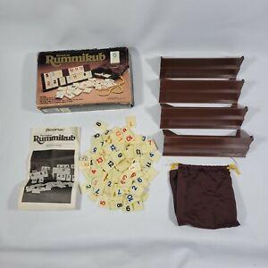 VINTAGE Miniature Rummikub 1981 Pressman COMPLETE Travel Size Board Game RARE