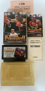 PUNCH OUT Mike Tyson's Famicom Nintendo 2319 fc, 🇬🇧seller, tested, rare colect