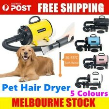 2800W Low Noise Pet Hair Dryer Dog Grooming Blow Speed Hairdryer Blower Heater