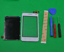 WHITE For Huawei Ascend Y360 / Y3 Touch Screen Digitizer Glass+LCD Display Part