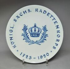 Meissen Regimentsteller,Königlich Sächsisches Kadettenkorps 1725 -1920
