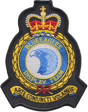 Blue Eagles Display Team British Army Air Corps AAC Crest MOD Embroidered Patch