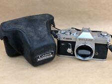 Canon Pellix QL 35mm SLR Film Camera Body Only - Needs minor Service