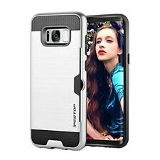 IPEGTOP Galaxy S8 Case, Shockproof Bumper Dual Layer Protective Case -