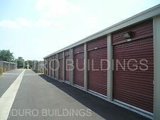DURO Steel Mini Self Storage 40x100x8.5 Metal Prefab Building Structures DiRECT