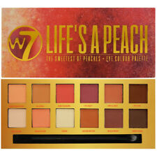 W7 Life's a Peach Eye Colour Palette 12 Eyeshadows The Sweetest of Peaches