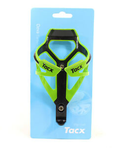 TACX Deva Bicycle Cycling Water Bottle Cage 29 Grams, Cannondale Green