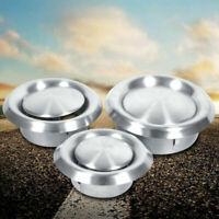 3 tailles en acier inoxydable plafond rond conduit grille d'aération grille de