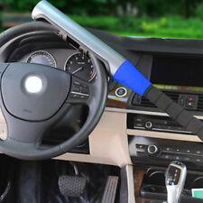 CAR VAN BASEBALL BAT STYLE STEERING WHEEL LOCK UNIVERSAL SECURITY LOCK BLUE