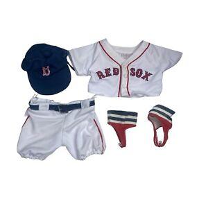 Build a Bear Outfit Boston Red Sox Uniform Shirt And Pants Baseball Team Player
