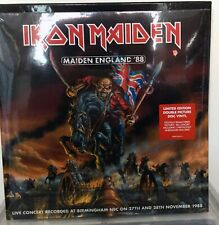 Iron Maiden - Maiden England 1988 - Sealed Double Picture Disc's Vinyl LP's