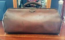 Vintage Gladstone Leather case/bag Circa 1920s. Large.