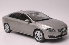 Volvo S60L car model in scale 1:18 Seashell