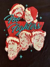Foo Fighters Funny Christmas Shirt Adult S Small Black Dave Grohl Rock n Roll!