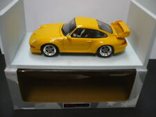 DIECAST 1:18th SCALE UT MODELS 1997 PORSCHE 911 GT2   YELLOW  ##27832