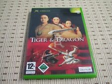 TIGER & DRAGON per XBOX * OVP *