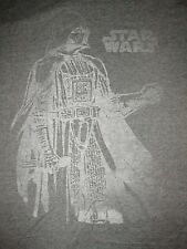 Star Wars Darth Vader Vintage Style T Shirt Sz XL Empire Evil Sith Lord Movie