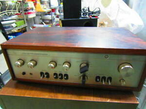 LUXMAN L-504 Integrated amplifier AC100V Working Properly F/Shipping (d1115