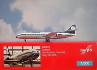 Herpa Wings 1:500 Sud Aviation Caravelle  Sabena OO-SRA  531672 Modellairport500