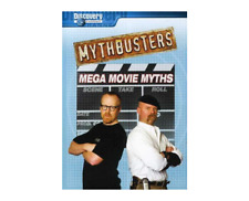 Mythbusters - Mega Movie Myths (DVD, 2007) (dv2820)