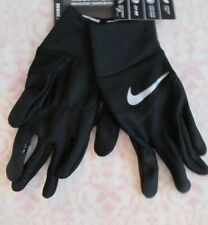 Nike Men's DRI-FIT Tempo Running Gloves Black/Silver XL New