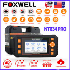 Foxwell NT634 OBD2 Scanner Code Reader ABS SRS EPB Oil DPF Reset Injector Coding