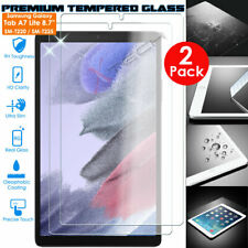 More details for 2x tempered glass screen protector for samsung galaxy tab a7 lite 8.7