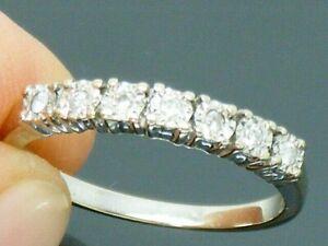 9ct Gold Diamond Hallmarked Eternity ring size L