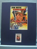 "John Wayne  in ""Chisum""  honored by the John Wayne stamp"