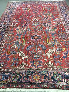 antico-swiss Beautiful Antique indoHERIZI rug 7`7 x 11`2 ft