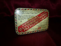 Compound Glycerin of Thymol Pastilles with AMC by BOOTS. Vintage collectable TIN