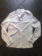 BYBLOS White Military Shirt 44 10