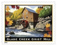 4927 Glade Creek Grist Mill Mint NH Priority Mail  $16.75 Retail Value
