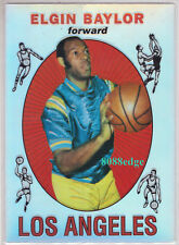 1996-97 STADIUM CLUB FINEST REPRINT RC: ELGIN BAYLOR - ROOKIE CARD REFRACTOR HOF