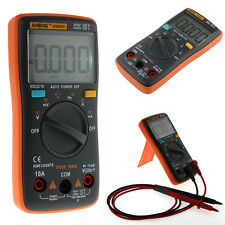 AN8001 Digital Multimeter Backlight 6000 Counts AC/DC Orange Portable Meter New
