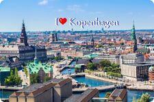 Kühlschrankmagnet,Magnetschild,Magnet-I`Love Kopenhagen II