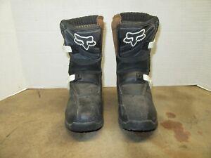 Fox Racing Comp 5K Pee Wee Kids Boots Dirt Bike Motocross ATV Youth Size K12