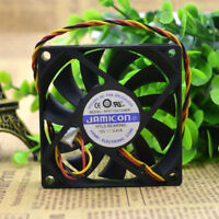 For 1pc JAMICON KF0715H1SABR fan 12V 0.41A 70*70*15mm 3pin