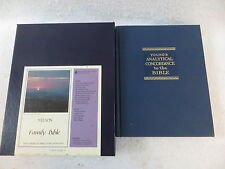 Lot of 2 YOUNG'S ANALYTICAL CONCORDANCE TO THE BIBLE & NELSON FAMILY BIBLE