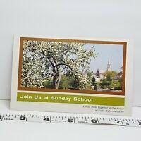 Vintage Postcard Sunday School Postcard 1972