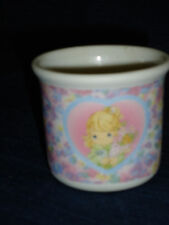 "2"" Precious Moments ceramic Votive Candle Holder It's Time to Bless Your Own Day"
