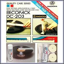 Nagaoka DC-203 Record Cleaning Kit
